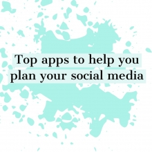 Top apps to help you plan your social media